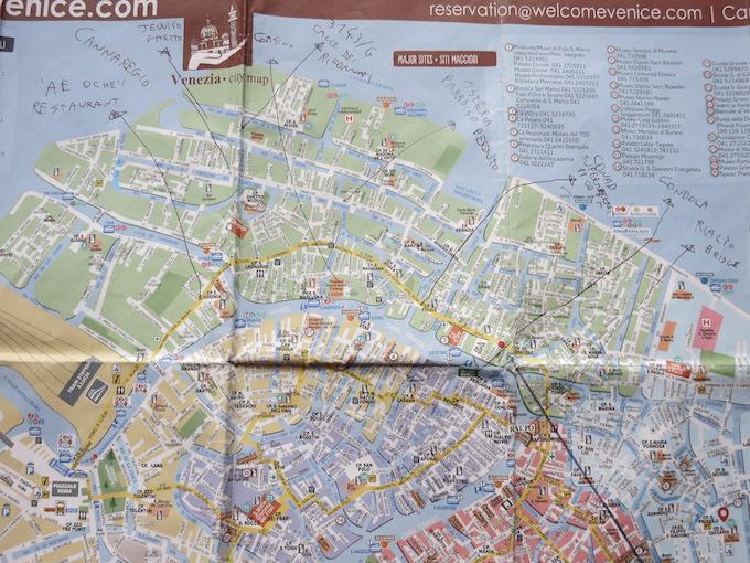 Residence Ca' degli Antichi Giardini Map