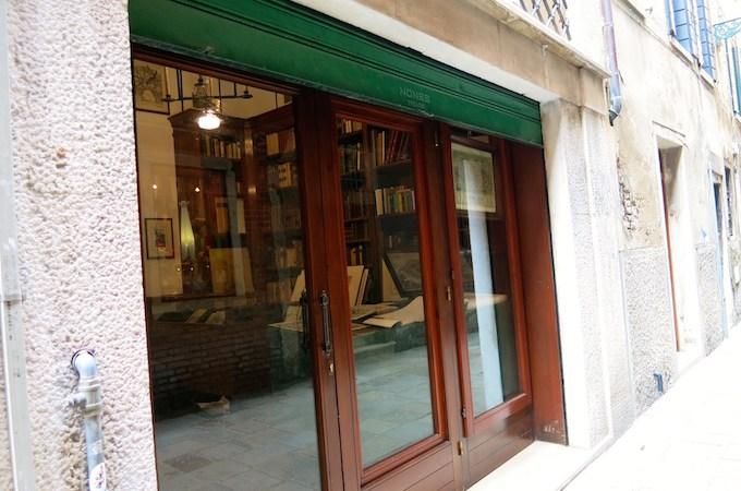 Libreria Emiliana Oldest Venice Bookstore