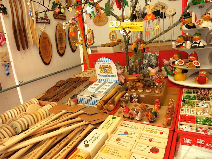 Nürnberg Ostermarkt wooden toys