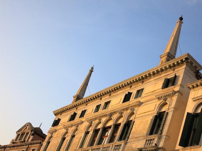 Venice Gondola Ride Spires