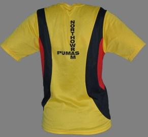 Pumas running t-shirt