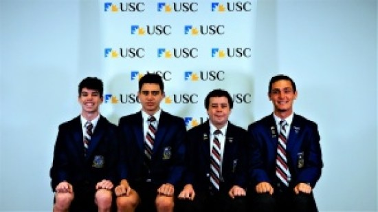 USC Business Competition Boys Team