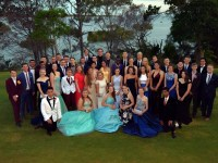 Year 12 formal group photo