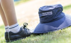 Northpine hat and shoes from Uniform Shop