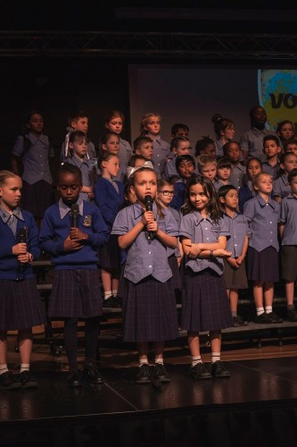 Students perform for Vocal Night
