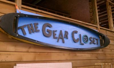 The Gear Closet Logo