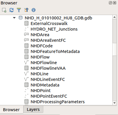 QGIS: Using ESRI's File Based Geodatabase • North River Geographic