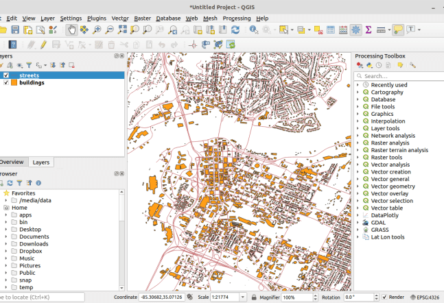 Adding Data to QGIS