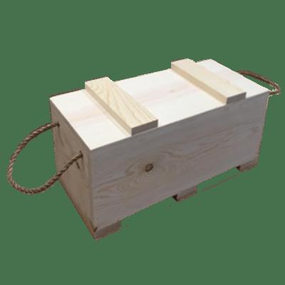 medium ammo box north rustic design