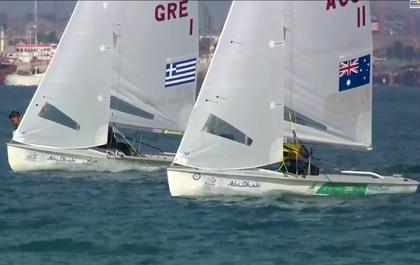 2014ISAF Sailing World Cup Final Mens Winner Mat / Will AUS