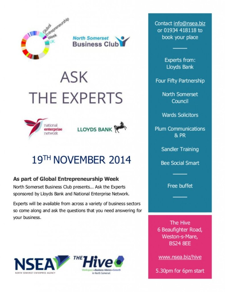 Poster for ask the Experts