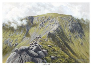 Striding Edge Painting