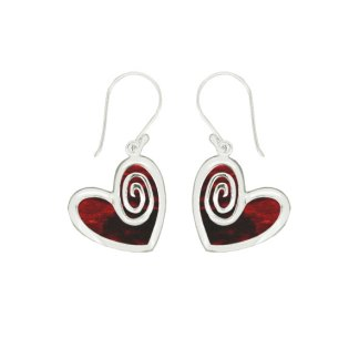Lovestruck Earrings - Red Shell