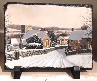 Snowshill Village Standing Slate