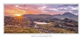Innominate Tarn Greeting Card