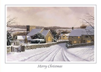 Snowshill Village Christmas Card