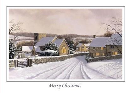 Snowshill Village Christmas Card