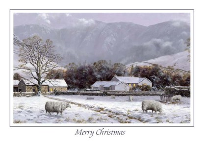 Wasdale Winter Christmas Card