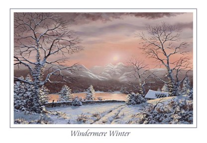 Windermere Winter Greeting Card