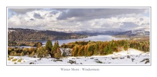 Winter Morn Windermere Greeting Card
