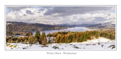 Winter Morn Windermere Greeting Card