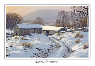 Winters Glow Christmas Card