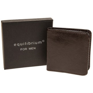 Mens Leather Coin Purse - Brown