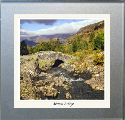 Photographic Glass Coaster - Ashness Bridge