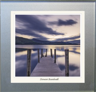 Photographic Glass Coaster - Derwent Boardwalk