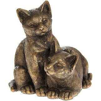 Bronzed Cats Resting