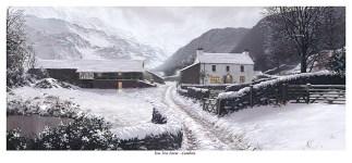 Yew Tree Farm Snow Scene