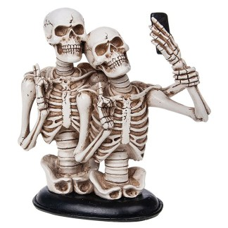 Funny Bone Skeleton Selfie Couple