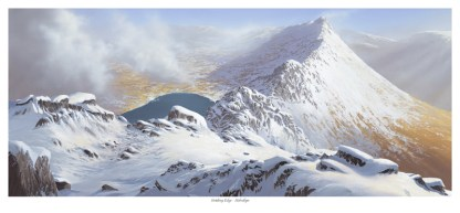 Striding Edge in the Snow