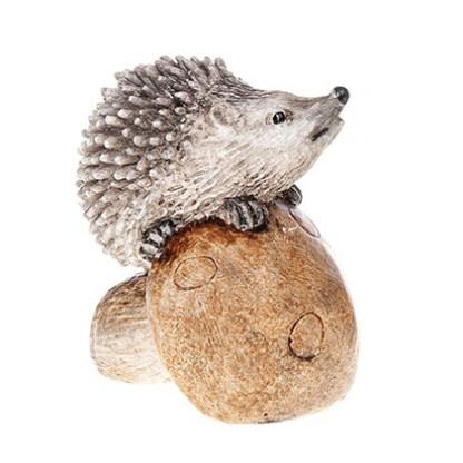 Happy Hedgehogs Mushroom Front