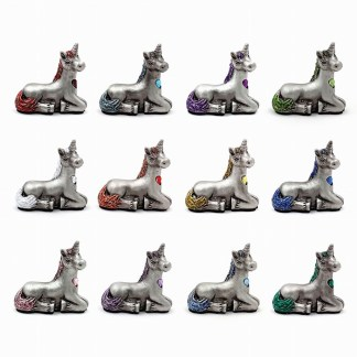 Birthstone Unicorn Figurines