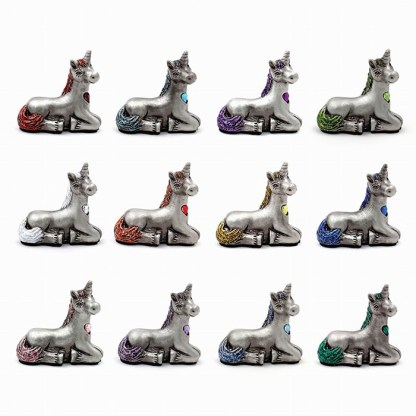 Birthstone Unicorn Figurines