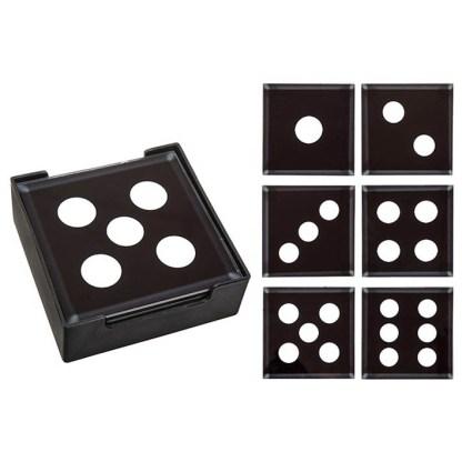Domino Coaster Set of 6