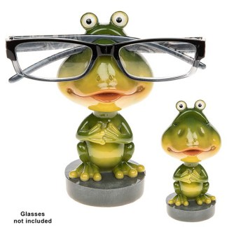 NEW Wobble Head Spec Holder - Frog