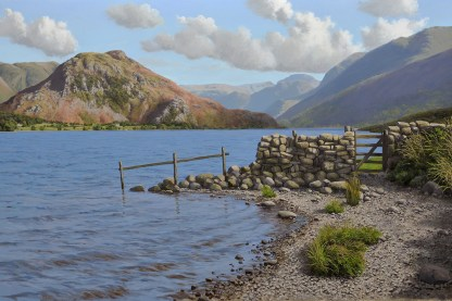 Crummock Water & Rannerdale Knotts Limited Edition Print