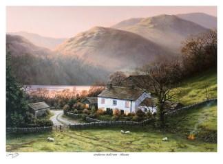 Gowbarrow Hall Farm Print