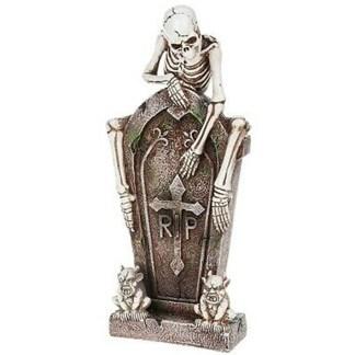 Funny Bones Skeleton with Gravestone