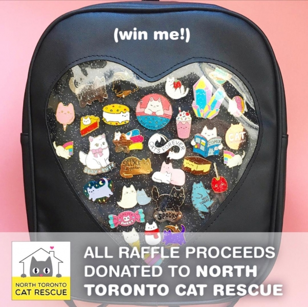 NTCR Raffle - Pins&Patch Show 2018