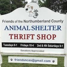 Northumberland County Animal Shelter Indoor Yard Sale