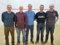 Mens O55 team 2015 Finals