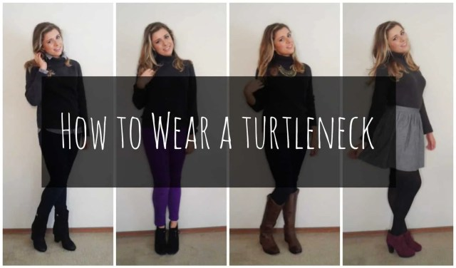 How to Wear a Turtleneck
