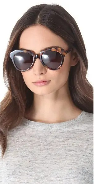 d03bd7e45c8 Last year I found several great dupes to the Celine  Baby Audrey  sunglasses  and this year I m doing the same for Karen Walker  The Number One