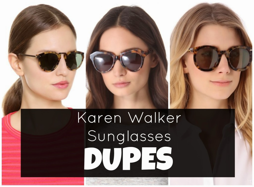 2b3db3d1de Designer Alternative  Karen Walker Sunglasses - Northwest Blonde
