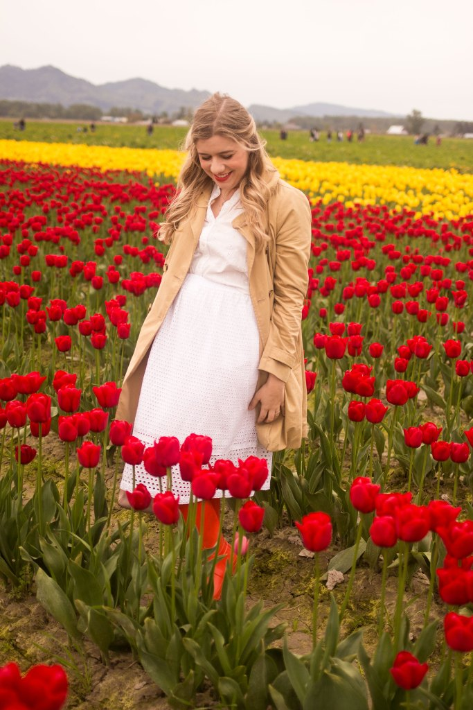 how to have a good day every day - skagit valley tulip festival
