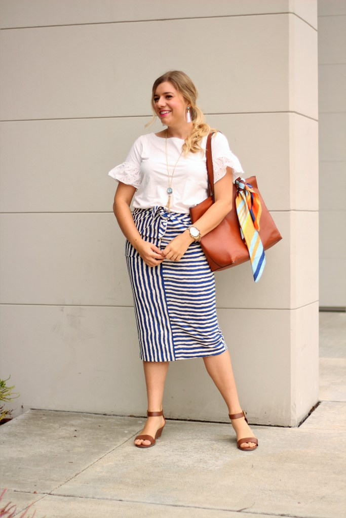 summer work capsule wardrobe - business casual summer - what to wear to work in the summer