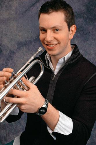 Ethan Bensdorf, NY Philharmonic trumpeter